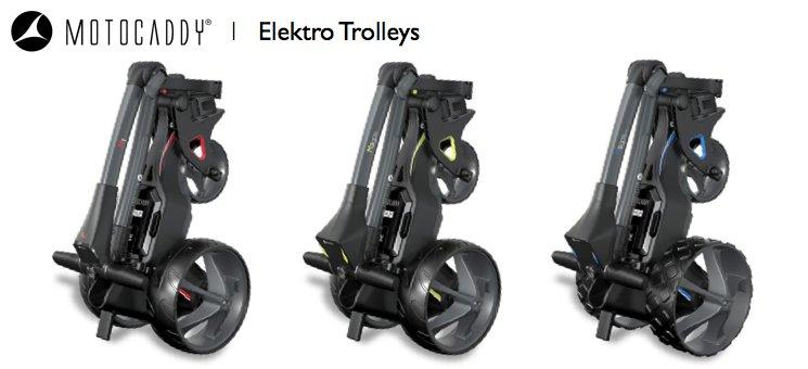 Motocaddy Elektro Trolleys