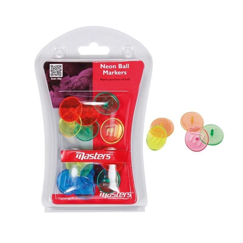 Masters Neon Ballmarkierer | mixcolored 12 Bälle