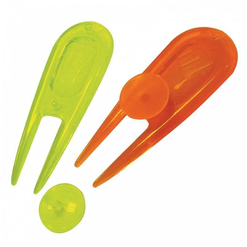 Masters Neon Pitchgabel und Ballmarkierer | 2 Stück | neon