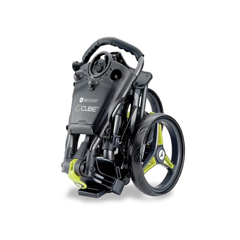 Motocaddy CUBE 2020 Push-Trolley | graphit-lime