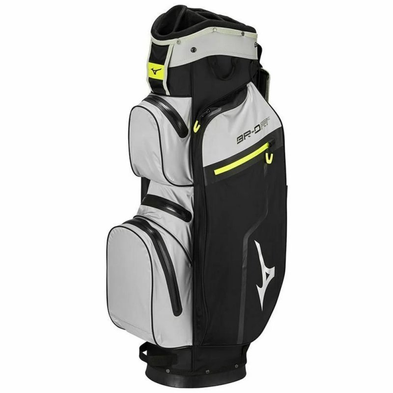 Mizuno BR-DRI WP Cart-Bag | black-grey-lime