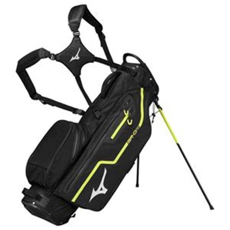 Mizuno BR DRI WP Stand-Bag | black-lime