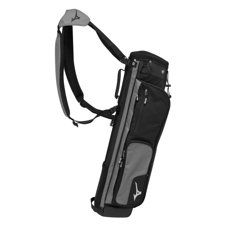 Mizuno Scratch Carry-Bag | black-gray