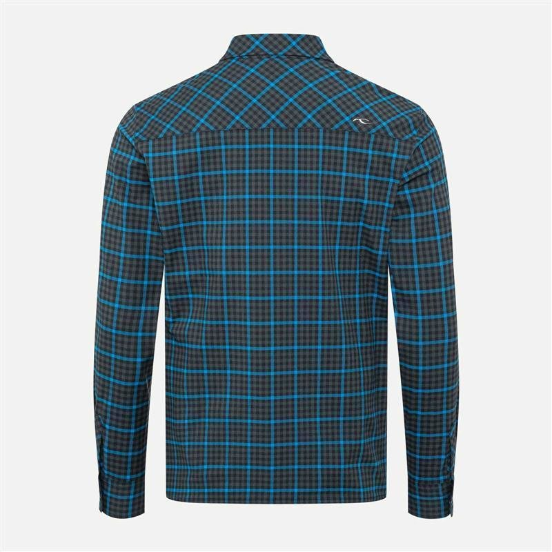 Kjus Circle Shirt Herren | dark jet green 52