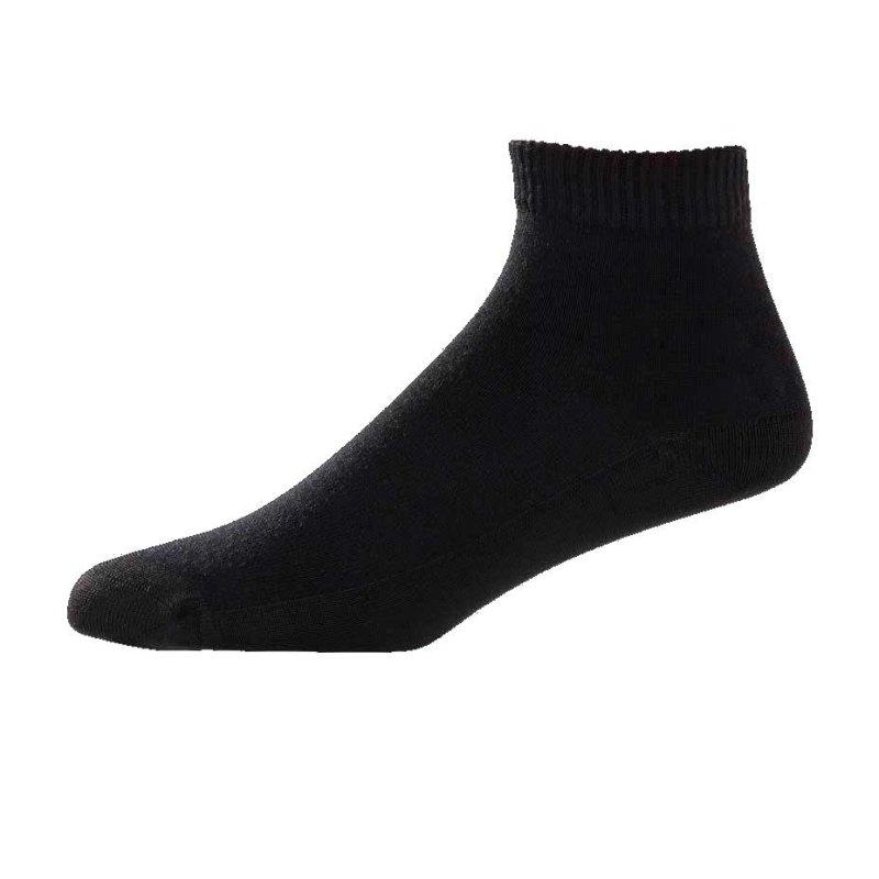 FootJoy ProDry Lightweight Quarter Golf-Socken Damen   schwarz 36,5-40,5