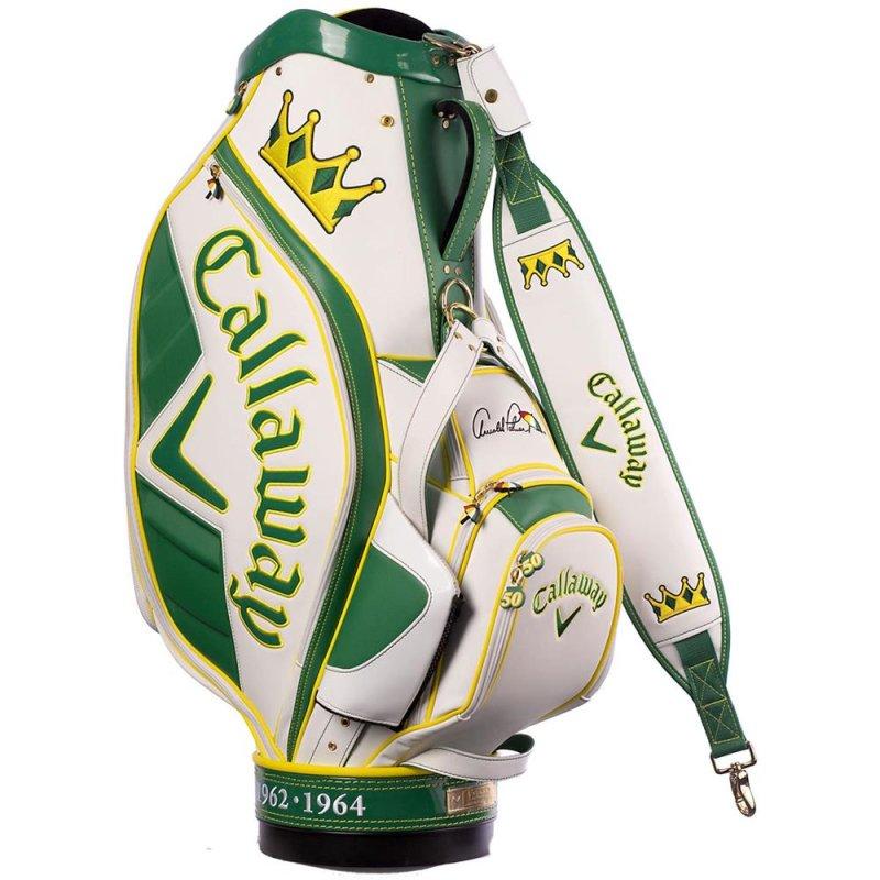 "Callaway Major Staff 2014 Cartbag LIMITED EDITION ""The King"" Arnold Palmer"