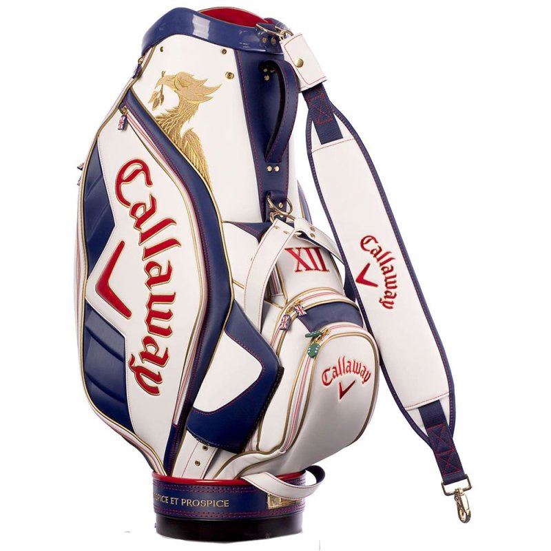 """Callaway Major Staff Julie 2014 Cartbag LIMITED EDITION """"Respice Et Prospice"""""""