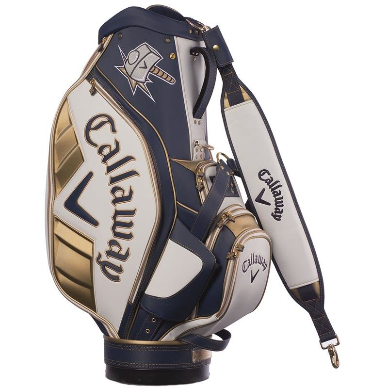 """Callaway Major Staff August 2014 Cartbag LIMITED EDITION """"Iconic Hammer Pays"""""""