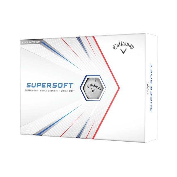 Callaway Supersoft 21 Golf-Ball | white 12 Bälle