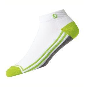 FootJoy ProDry Sport Golf-Socken Herren | weiß grau lime EU 39-46