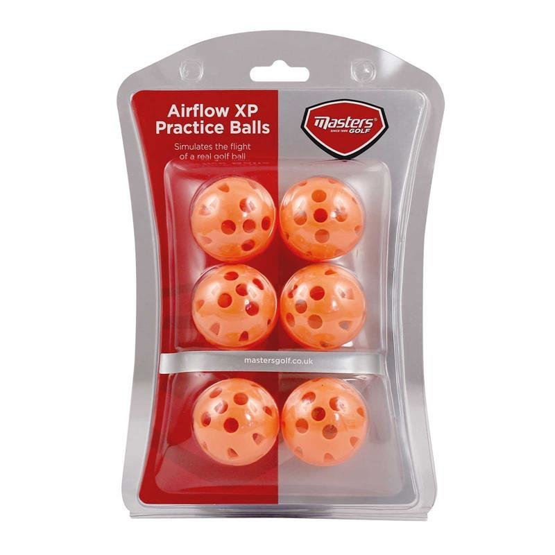 Masters Airflow XP Übungsbälle   orange 6 Bälle