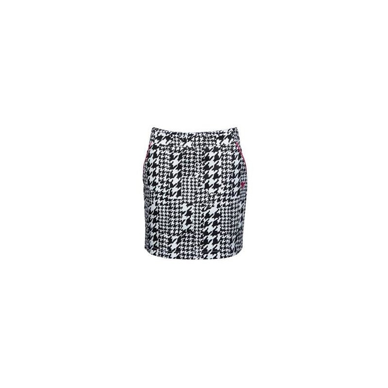 Girls Golf Hounstooths back on Skort Damen