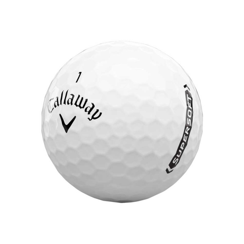 Callaway Supersoft 21 Golf-Ball | white 3 Bälle