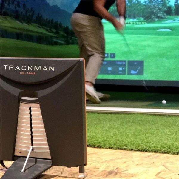 Gutschein TrackMan Golf Simulator, 1 Stunde