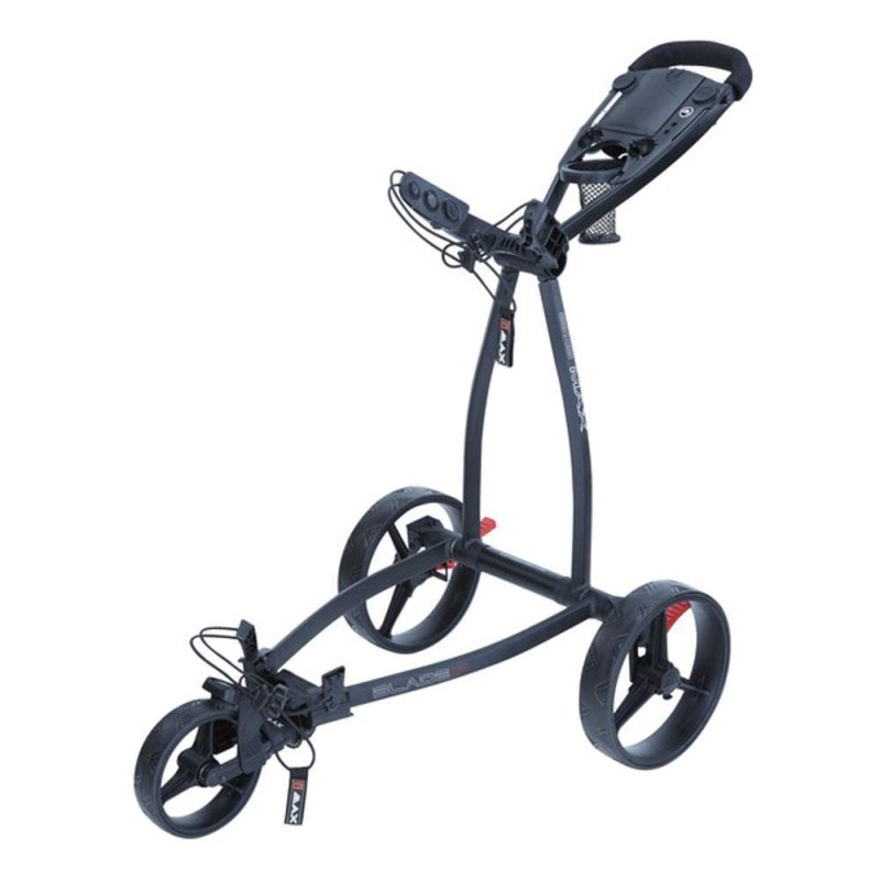 Big Max Blade IP Push Trolley | 3-Rad | schwarz