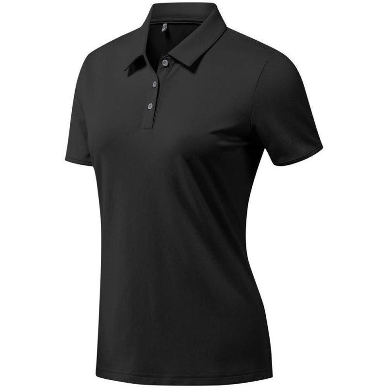 Adidas Tournament Poloshirt Damen   schwarz XS