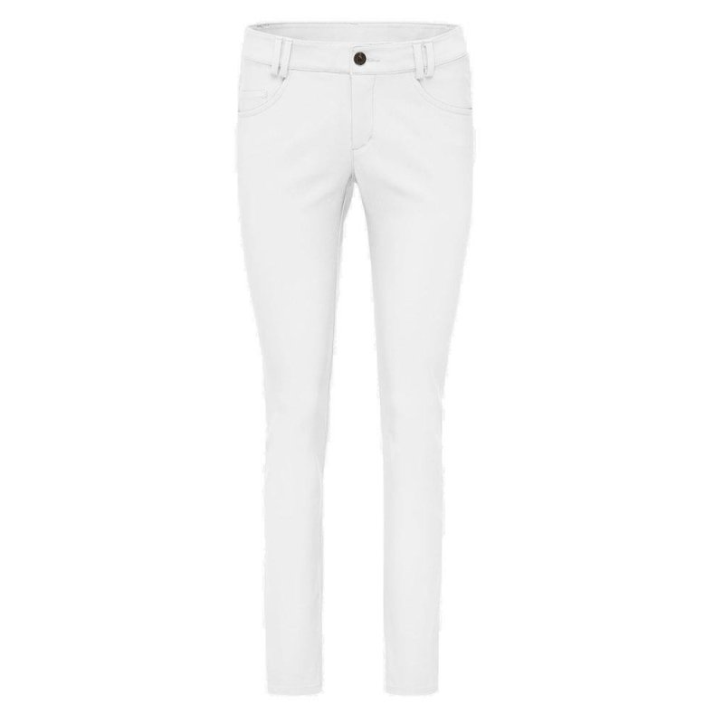 Kjus Ikala Slim Fit 5-Pocket Golf-Hose Damen | weiß 42