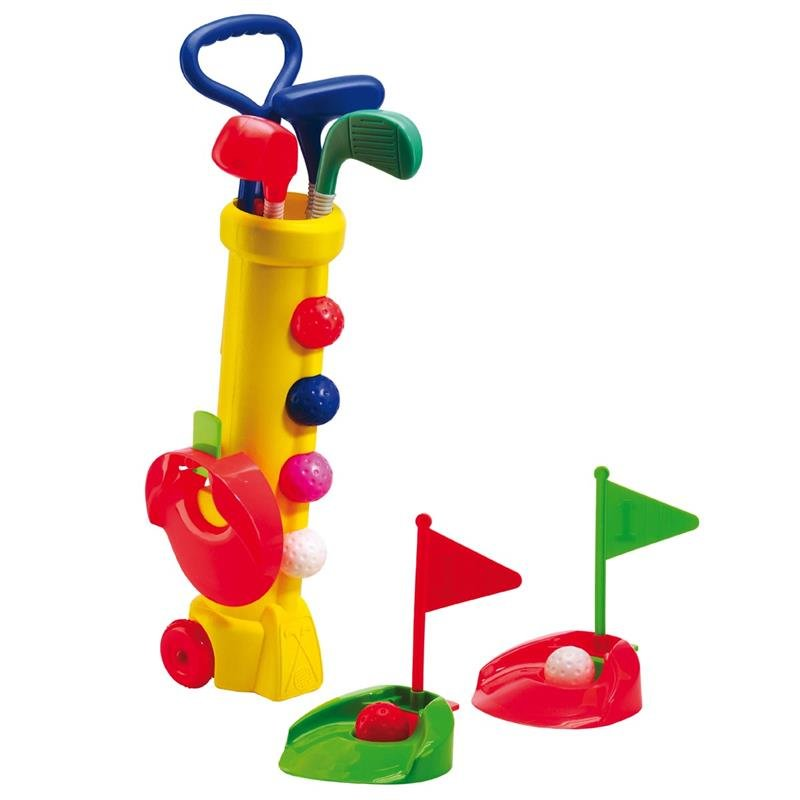 Silverline Mini Golf Kinderset | gelb