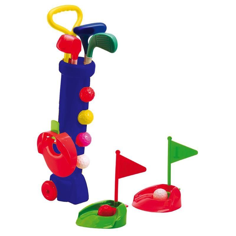 Silverline Mini Golf Kinderset   blau