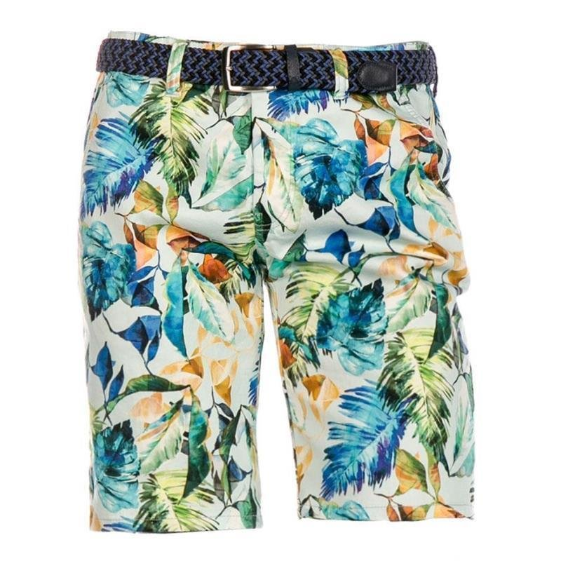 Alberto Earnie Fancy Jungle Shorts Herren | grün 46