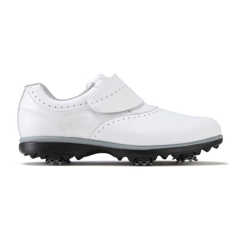 FootJoy eMerge Klettverschluß Golf-schuhe Damen   weiß EU 37 Medium
