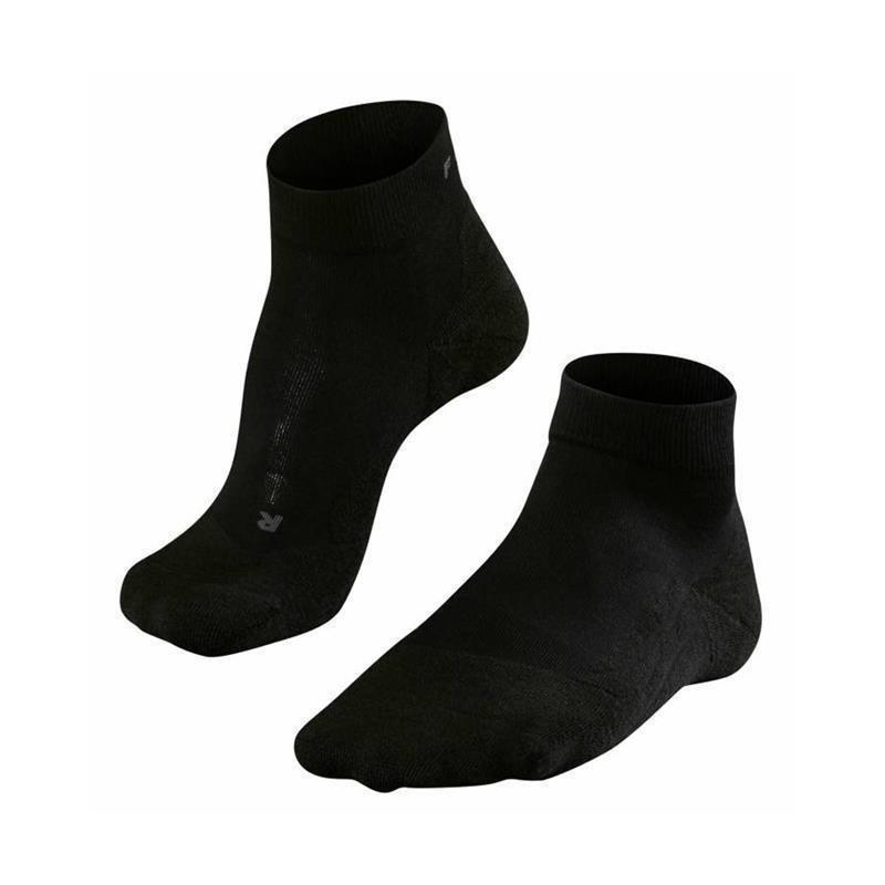 Falke GO2 Short Socken Herren | schwarz 46-48