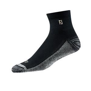 FootJoy ProDry Quarter Golf-Socken Herren | schwarz 39-46