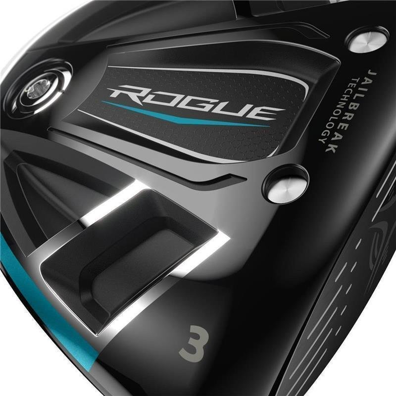 Callaway Rogue Fairwayholz Herren | RH Aldila Synergy 60 Stiff Flex 11