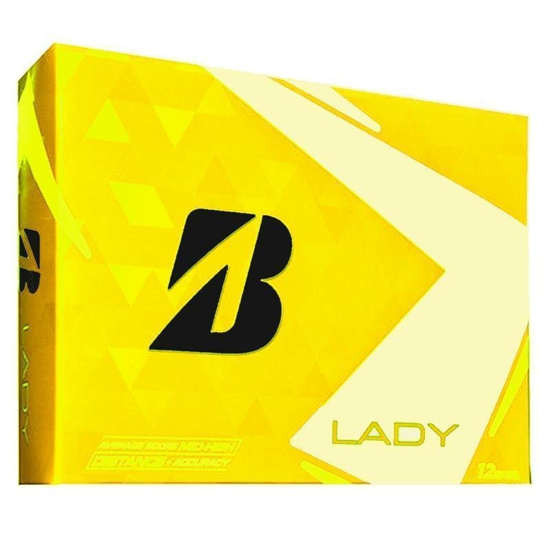 Bridgestone Lady 2018 Golfball | 3er Pack | gelb