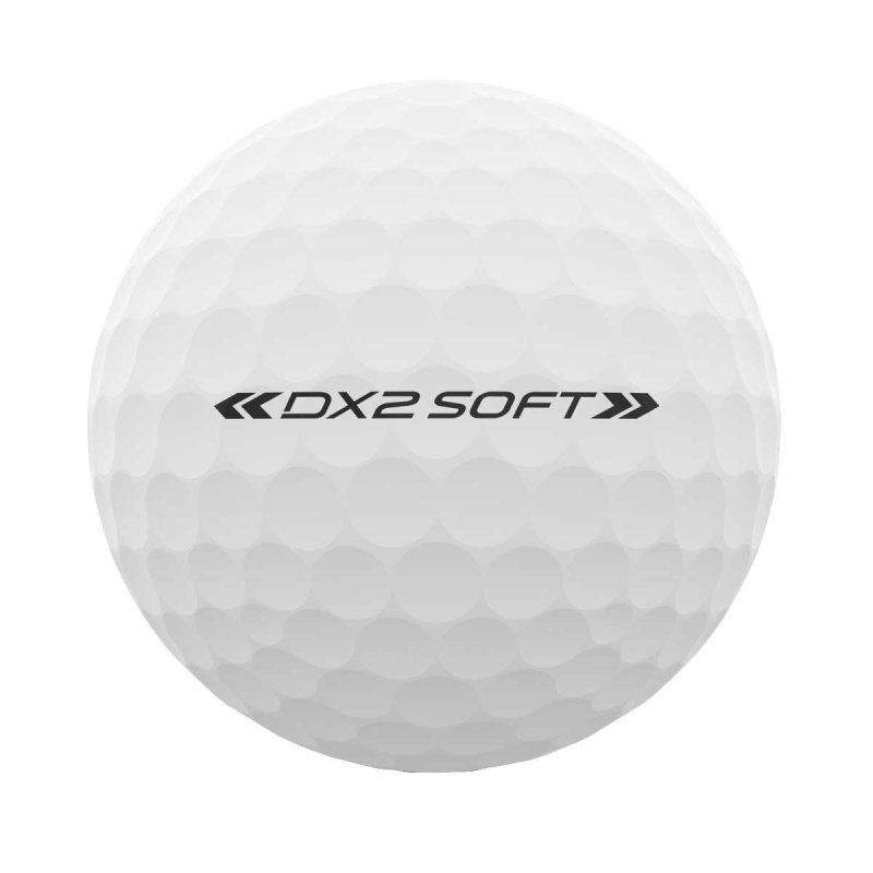 Wilson Staff DX2 Soft Women´s 2018 Golf-Ball | weiß 3 Bälle