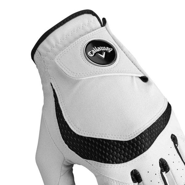 Callaway Syntech Golf-Handschuh Damen   RH weiß L