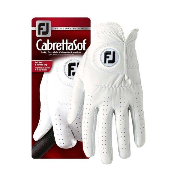 FootJoy CabrettaSof Golf-Handschuh Damen | RH perlweiß L