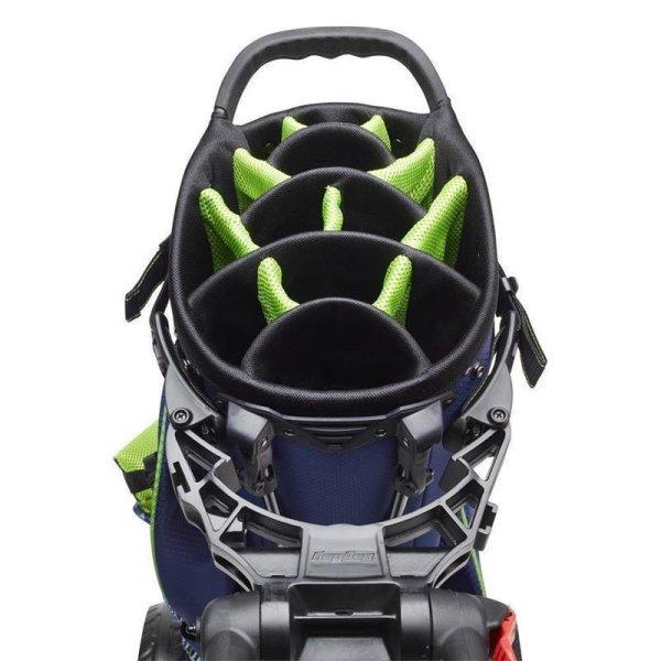 Bag Boy C3 Compact 3-Rad Pushtrolley | silber-schwarz