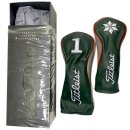 Titleist Premium Leather Headcover Holiday Limeted...