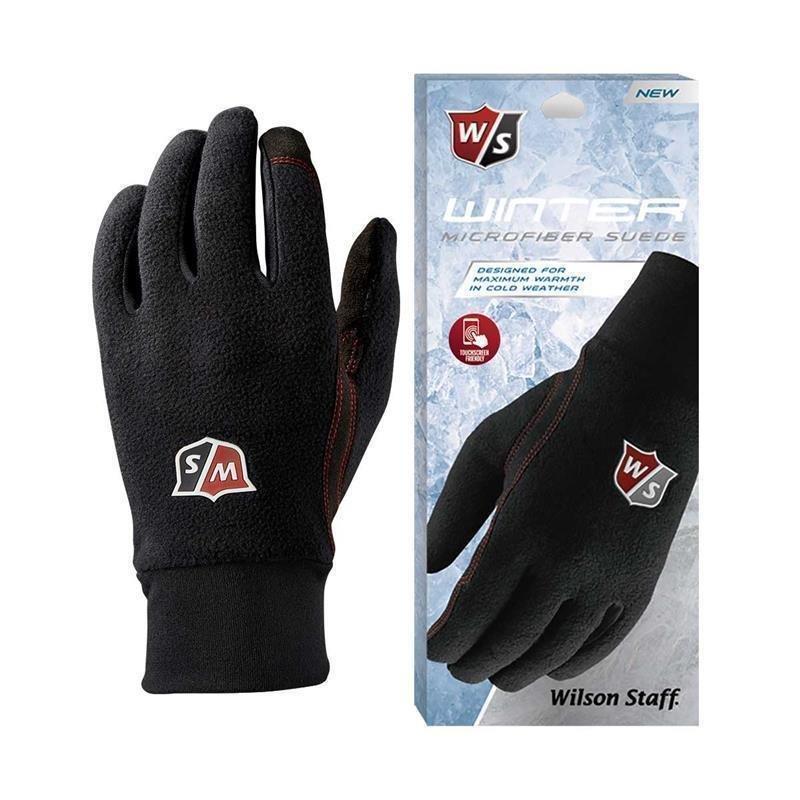 Wilson Staff Winter-Handschuhe Paar Damen   schwarz S