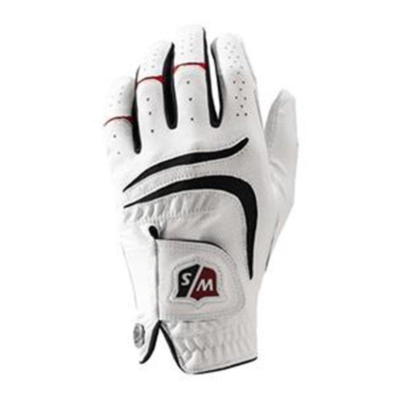 Wilson Staff Grip Plus Golf-Handschuh Herren | 1 Stück | RH | Gr. S | weiß