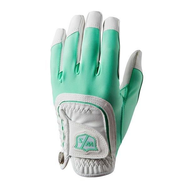 Wilson Staff Fit All Golf-Handschuh Damen   LH Mint-White one size