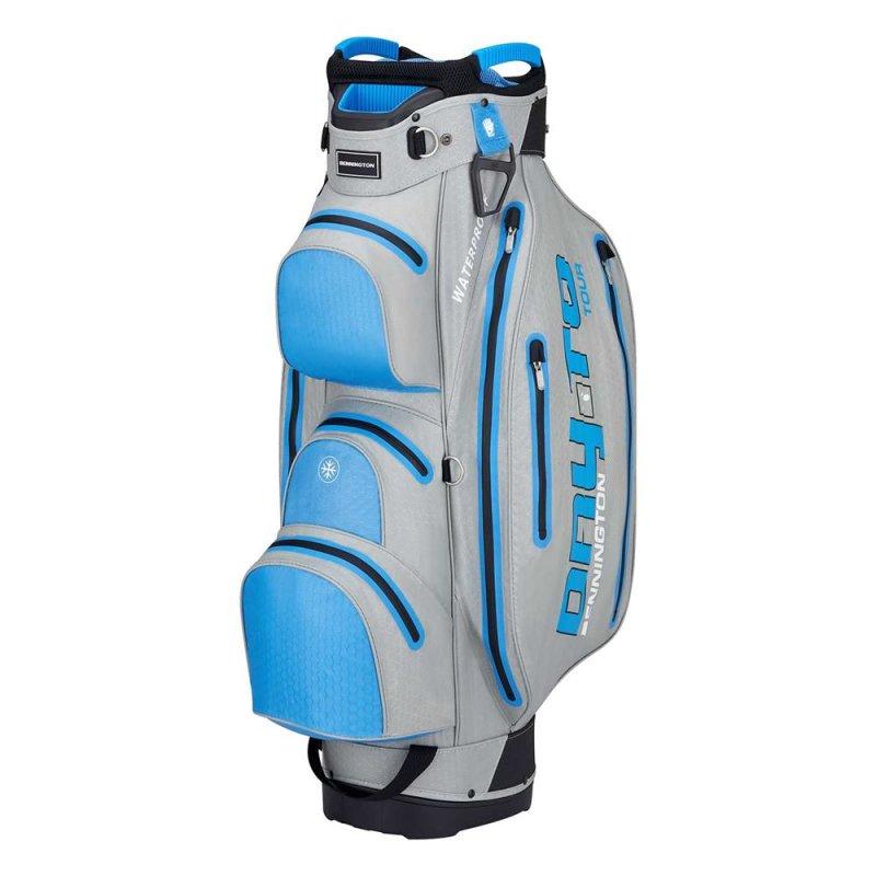 Bennington Dry TO Tour Waterproof Cart-Bag | Grey / Cobalt