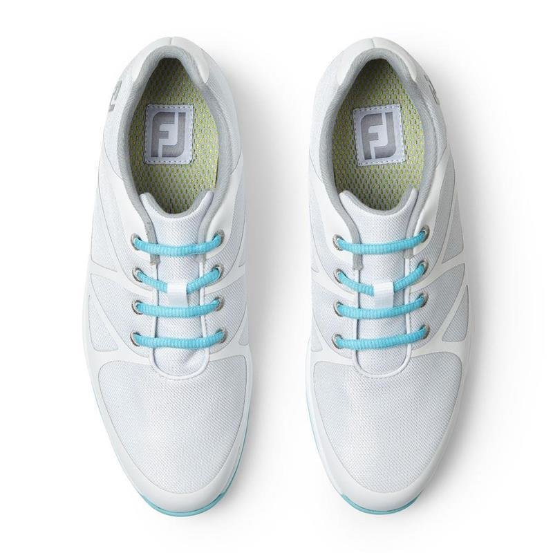 FootJoy Leisure Golf-Schuhe Damen | medium weiß-blau EU 36,5