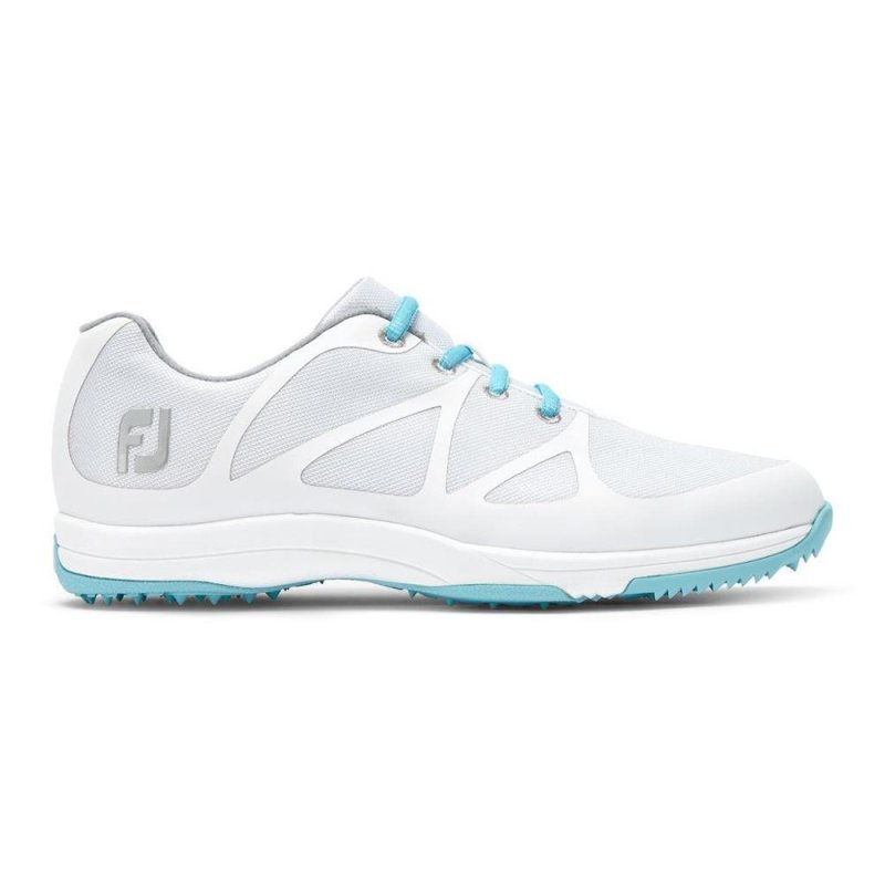 FootJoy Leisure Golf-Schuhe Damen | medium weiß-blau EU 37