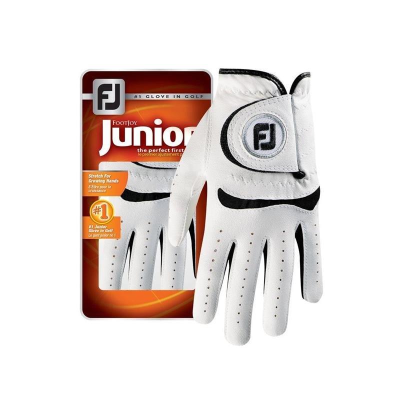 FootJoy Junior Golf-Handschuh Junioren   LH white-black S