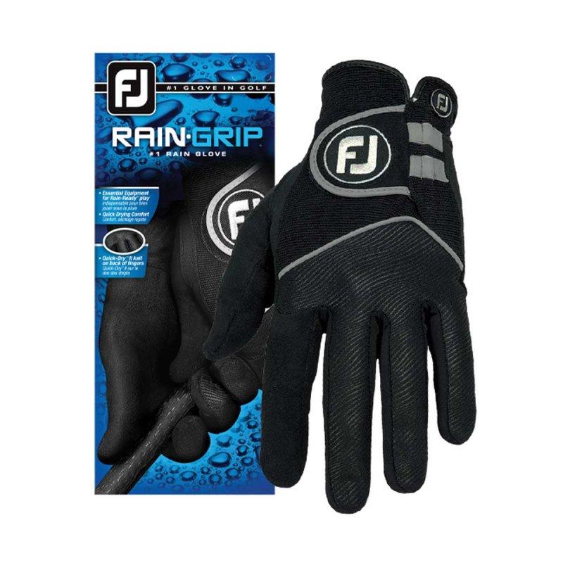 FootJoy RainGrip Golf-Handschuh Damen | LH schwarz L
