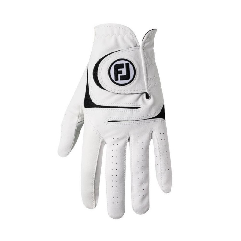 FootJoy WeatherSof Golf-Handschuh Herren | weiß LH M