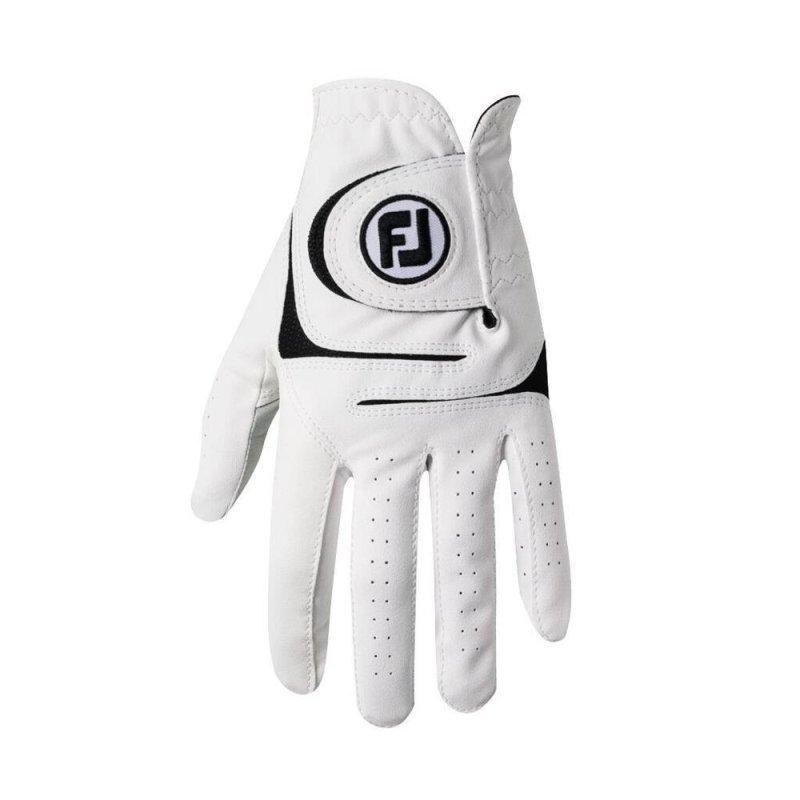 FootJoy WeatherSof Golf-Handschuh Herren   weiß RH XL