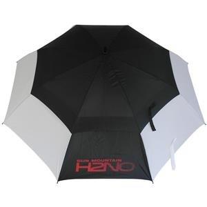 Sun Mountain UV-Proofed Golf-Regenschirm | schwarz-weiß-rot