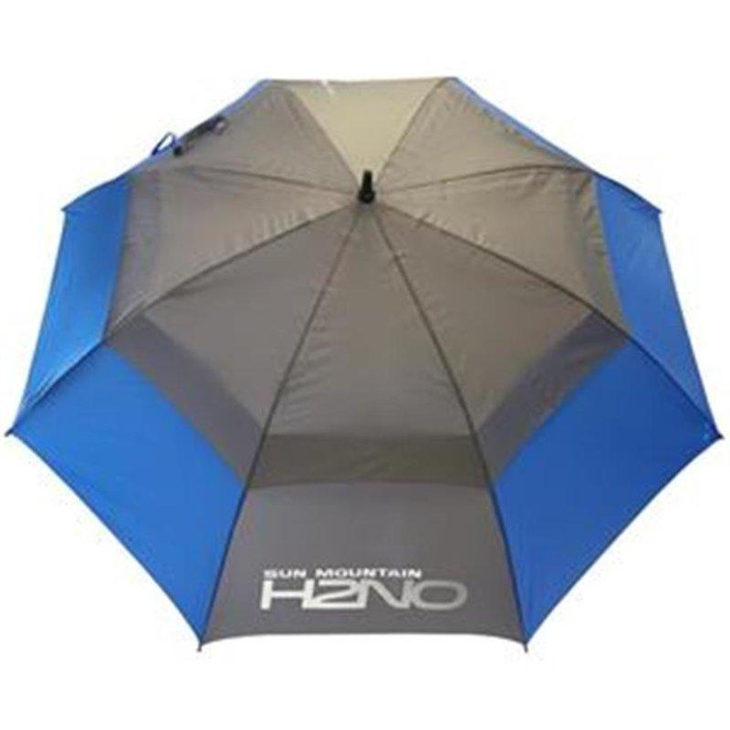 Sun Mountain UV-Proofed Golf-Regenschirm   blau-grau