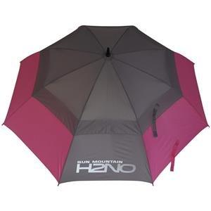 Sun Mountain UV-Proofed Golf-Regenschirm | pink-grau