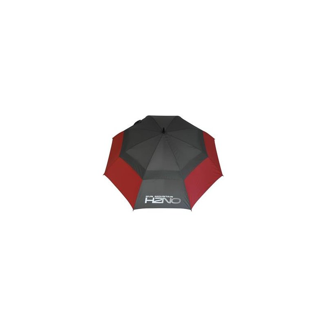 Sun Mountain UV-Proofed Golf-Regenschirm | grau-rot