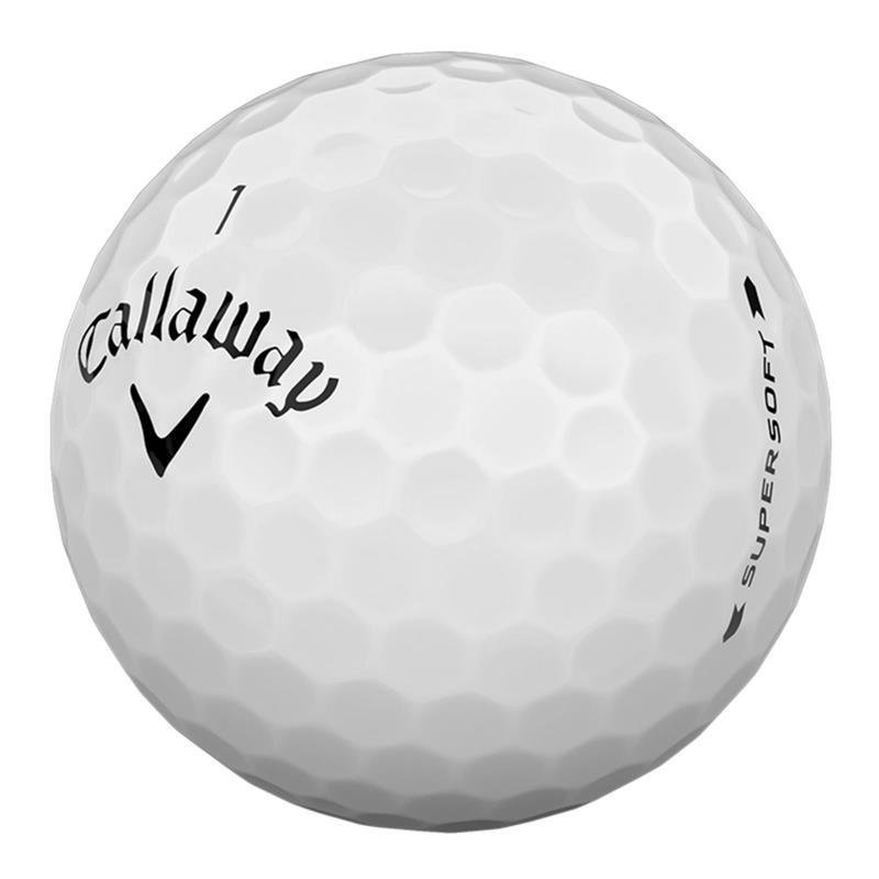 Callaway Supersoft 2019 Golfball | 3er Pack | weiß