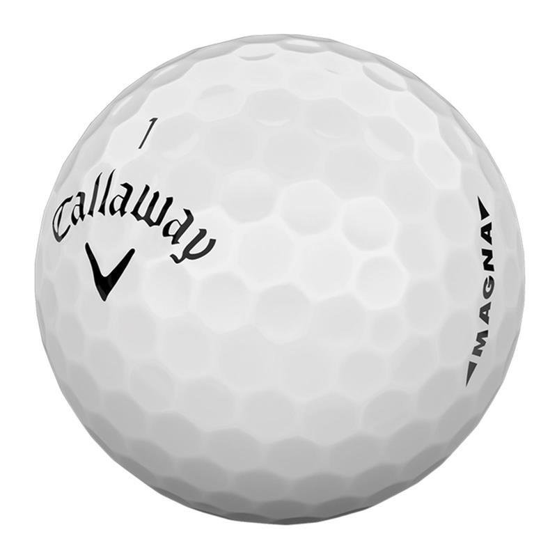 Callaway Supersoft Magna Golfball | 3er Pack | weiß